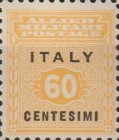 """[Allied Military Postage Overprinted """"ITALY"""" and Value, type A4]"""