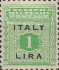 """[Allied Military Postage Overprinted """"ITALY"""" and Value, type A5]"""