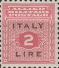 """[Allied Military Postage Overprinted """"ITALY"""" and Value, type A6]"""