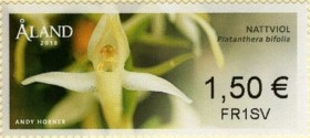 [Franking Labels - Orchids, type AC]