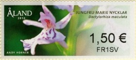 [Franking Labels - Orchids, Typ AD]