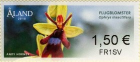 [Franking Labels - Orchids, Typ AE]