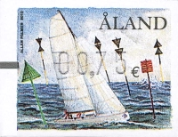[Franking Label - Sail Ships, type U]