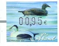 [Franking Labels - Water Birds, Typ W]