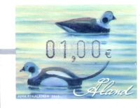 [Franking Label - Water Birds, Typ X]