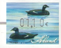 [Franking Label - Water Birds, type Y]
