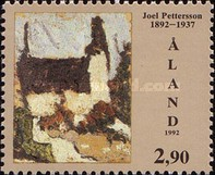 [The 100th Anniversary of the Birth of the Painter Joel Petterssonin, type BD]