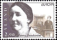 [EUROPA Stamps - Famous Women, type DE]