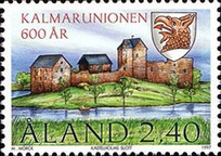 [The 600th Anniversary of the Kalmar Union, type DT]