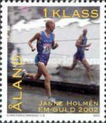 [Janne Holmén - Winner in the Men's Marathon in the European Athletics Championships, Typ GZ]