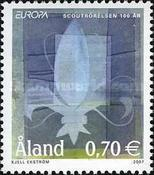 [EUROPA Stamps - The 100th Anniversary of Scouting, type JO]