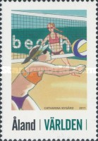 [Personalized Stamp - Beach Volleyball, type ME]