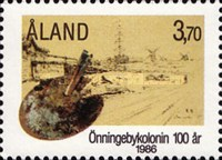 [The 100th Anniversary of the Town of Önningeby, type N]