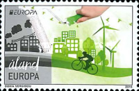 [EUROPA Stamps - Think Green, type PG]