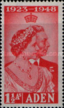 [the 25th Anniversary of the Marriage of King George VI and Queen Elizabeth, Typ J]
