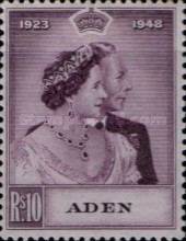 [the 25th Anniversary of the Marriage of King George VI and Queen Elizabeth, type K]