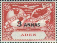[the 75th Anniversary of the Universal Postal Union, Typ L1]
