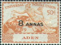 [the 75th Anniversary of the Universal Postal Union, Typ L2]