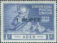 [the 75th Anniversary of the Universal Postal Union, Typ L3]
