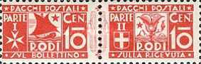 [Parcel Post Stamps, Typ A1]