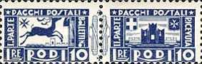 [Parcel Post Stamps, Typ B4]