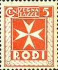 [Postage-due Stamps, Typ A]