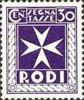 [Postage-due Stamps, Typ A3]