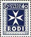 [Postage-due Stamps, Typ A4]