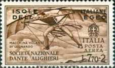 [Airmail - Italian Stamps in Different Colors Overprinted