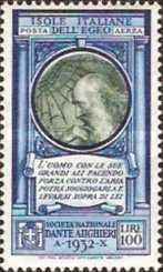 [Airmail Italian Stamp No. 379 with