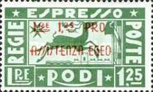 [Airmail - Express. No 147 & 148 Overprinted, Typ CP]