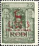 [War Charity Stamps, Typ CR3]