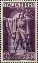 [Italy No. 313-15 Overprinted. Airmail - The 400th Anniversary of the Death of Francesco Ferruci, Typ H]