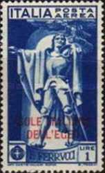 [Italy No. 313-15 Overprinted. Airmail - The 400th Anniversary of the Death of Francesco Ferruci, Typ H1]