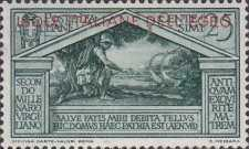 """[Italian Stamps No 316-324 in Different Colors Overprinted """"ISOLE ITALIANE DELL'EGEO"""", tyyppi L]"""
