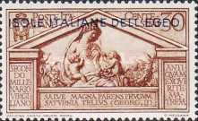"""[Italian Stamps No 316-324 in Different Colors Overprinted """"ISOLE ITALIANE DELL'EGEO"""", tyyppi M]"""