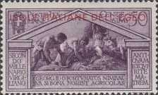 [Italian Stamps No 316-324 in Different Colors Overprinted