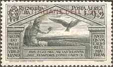 """[Airmail - Italian Stamps No 325-328 in Different Colors Overprinted """"ISOLE ITALIANE DELL'EGEO"""", tyyppi S3]"""