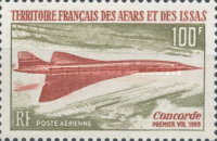 [Airmail - First Flight of the Concorde, type XXG]