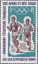 [Airmail - Olympic Games - Munich, Germany, type XYD]