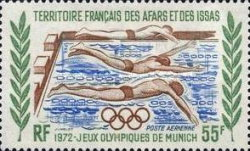 [Airmail - Olympic Games - Munich, Germany, type XYF]