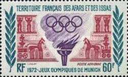 [Airmail - Olympic Games - Munich, Germany, type XYG]