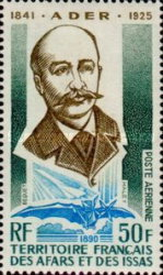 [Airmail - The 50th Anniversary of the Death of Clément Ader, type YAG]
