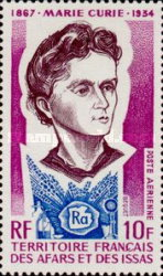 [Airmail - The 40th Anniversary of the Death of Marie Curie, 1867-1934, type ZH]