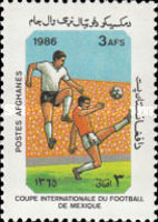[Football World Cup - Mexico 1986, type AED]