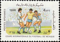 [Football World Cup - Mexico 1986, type AEE]