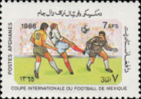 [Football World Cup - Mexico 1986, type AEF]
