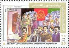 [First Direct Presidential Election in Afghanistan, type AYD1]