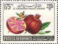 [Fruits - Afghan Red Crescent Society, type HU2]