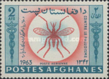[The Struggle Against Malaria - Airmail, Typ LB4]